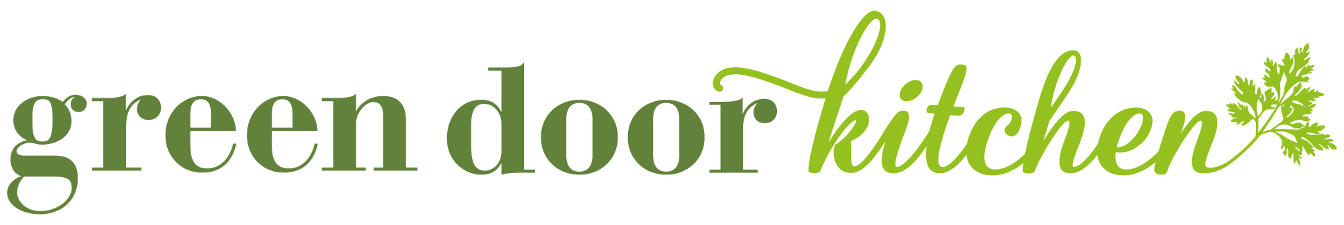 Logo Green Door Kitchen